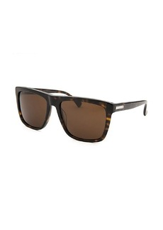 Calvin Klein Women's Square Havana Sunglasses