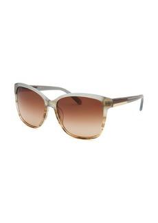 Calvin Klein Women's Square Multi-Color Sunglasses