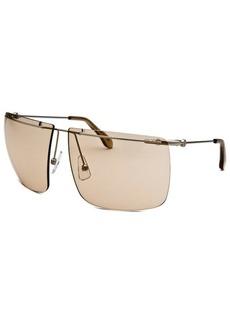 Calvin Klein Women's Square Rimless Sunglasses