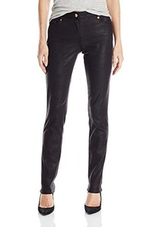 Calvin Klein Women's Stingray Ponte Pant, Black, 16