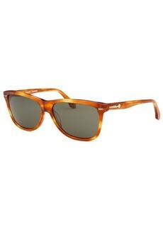Calvin Klein Women's Wayfarer Blonde Havana Sunglasses