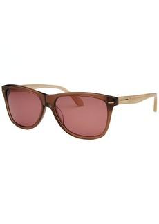 Calvin Klein Women's Wayfarer Caramel Sunglasses