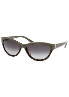 Calvin Klein Women's Wayfarer Gray & Tortoise Sunglasses
