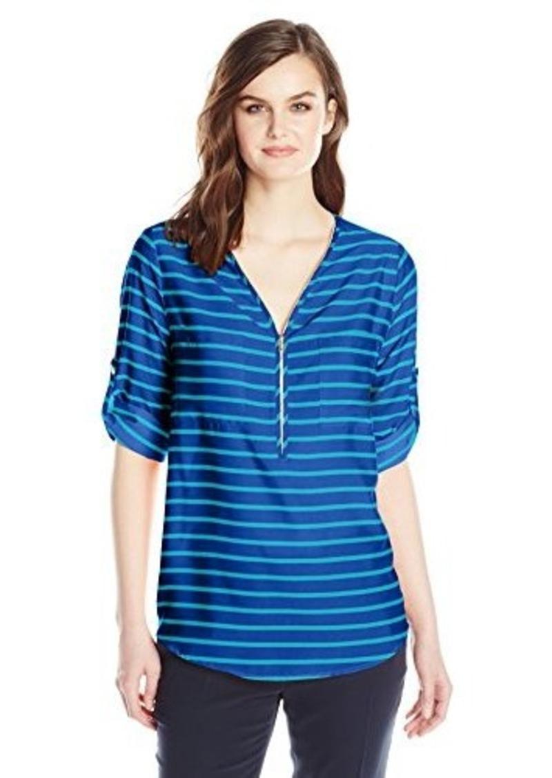 Calvin Klein Calvin Klein Women 39 S Zip Neck Blouse Dress