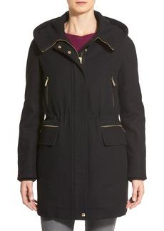 Calvin Klein Wool Blend Duffle Coat