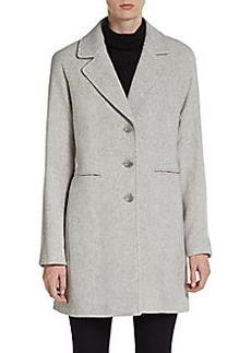 Calvin Klein Wool-Blend Topcoat