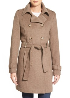 Calvin Klein Wool Blend Trench Coat