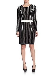 Calvin Klein Woven Princess Seamed Dress