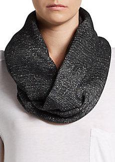 Calvin Klein Zigzag Knit Infinity Scarf