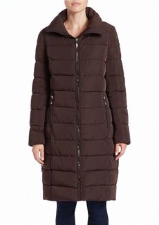 CALVIN KLEIN Zip-Front Puffer Coat
