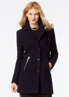 Calvin Klein Zip-Pocket Boucle Peacoat