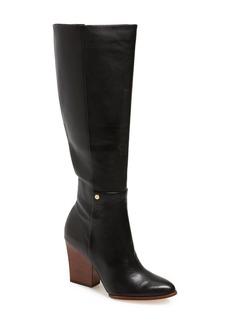 Calvin Klein 'Zurie' Knee High Pointy Toe Boot (Women)
