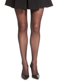 Calvin Klein 'Brickwork' Sheer Tights