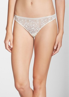 Calvin Kleing 'Reveal' Lace Thong