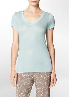 cap sleeve layering t-shirt