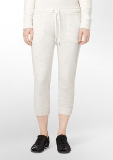 performance cropped lounge pants