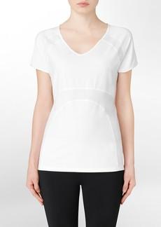 performance muscle v-neck short sleeve shirt