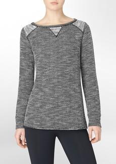 performance raglan pullover sweater