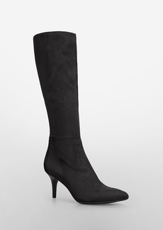 remia suede high heel boot