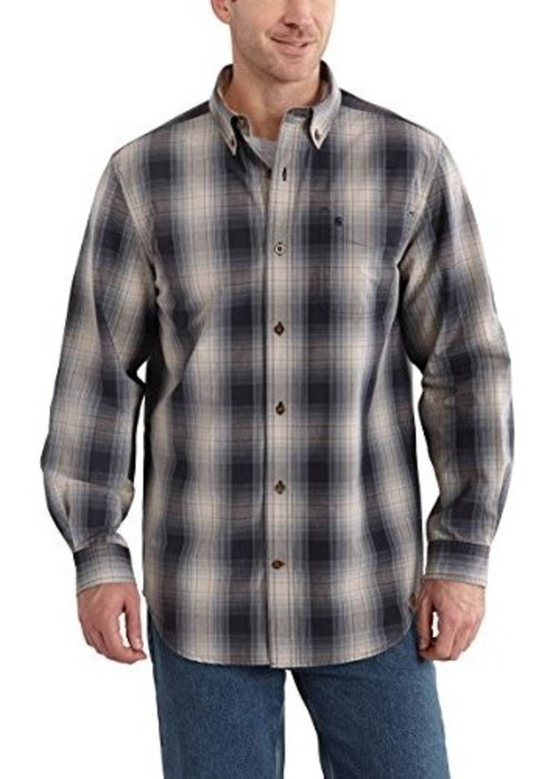 Carhartt carhartt men 39 s big tall bellevue long sleeve for Big and tall long sleeve shirts