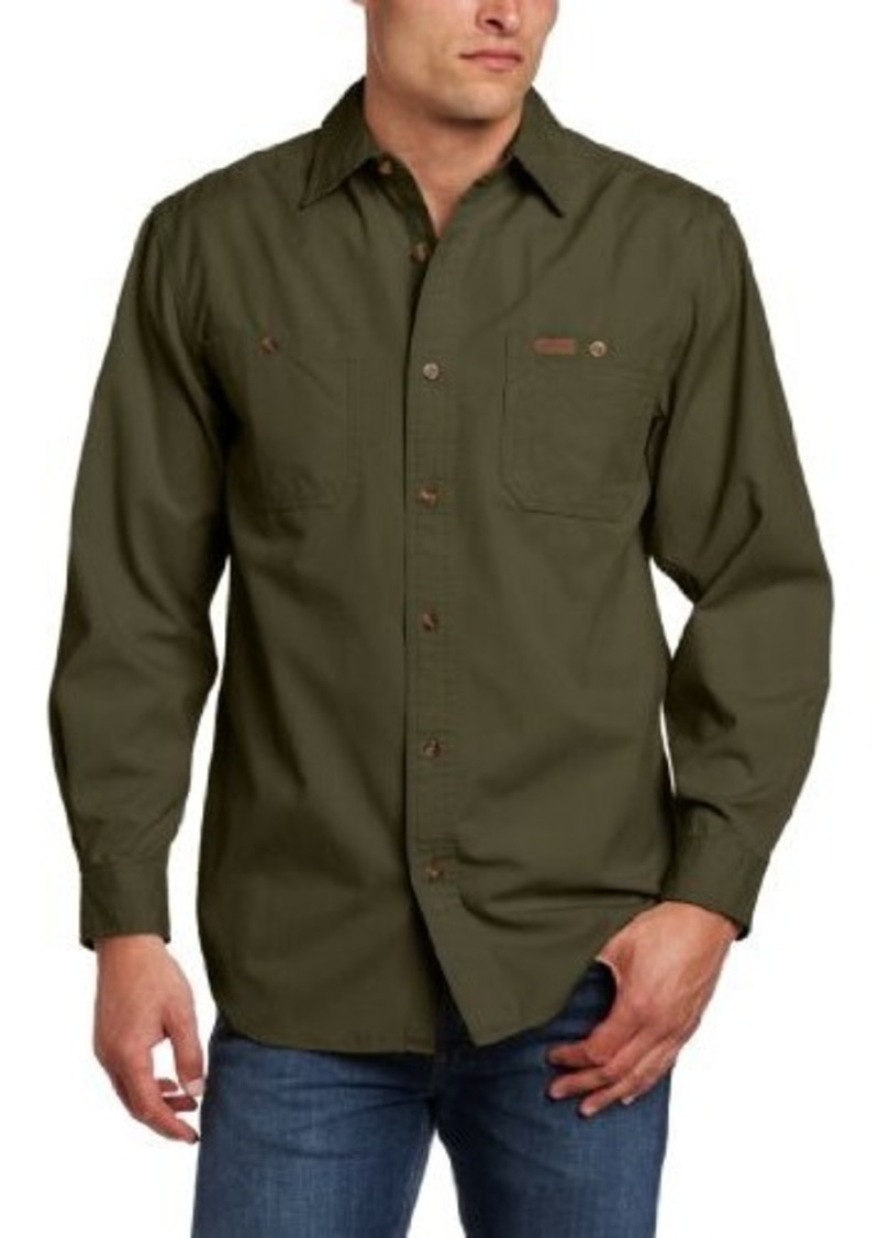 Carhartt carhartt men 39 s big tall trade long sleeve shirt for Big and tall casual shirts