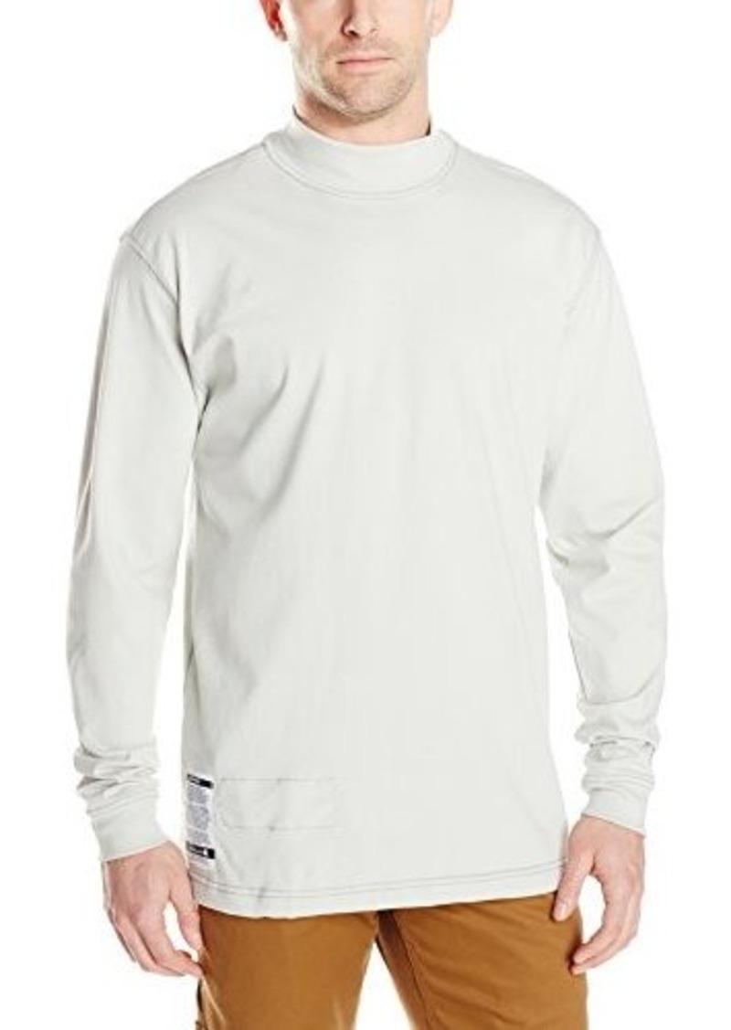 Carhartt men 39 s flame resistant force cotton long sleeve for Mens mock turtleneck shirts sale