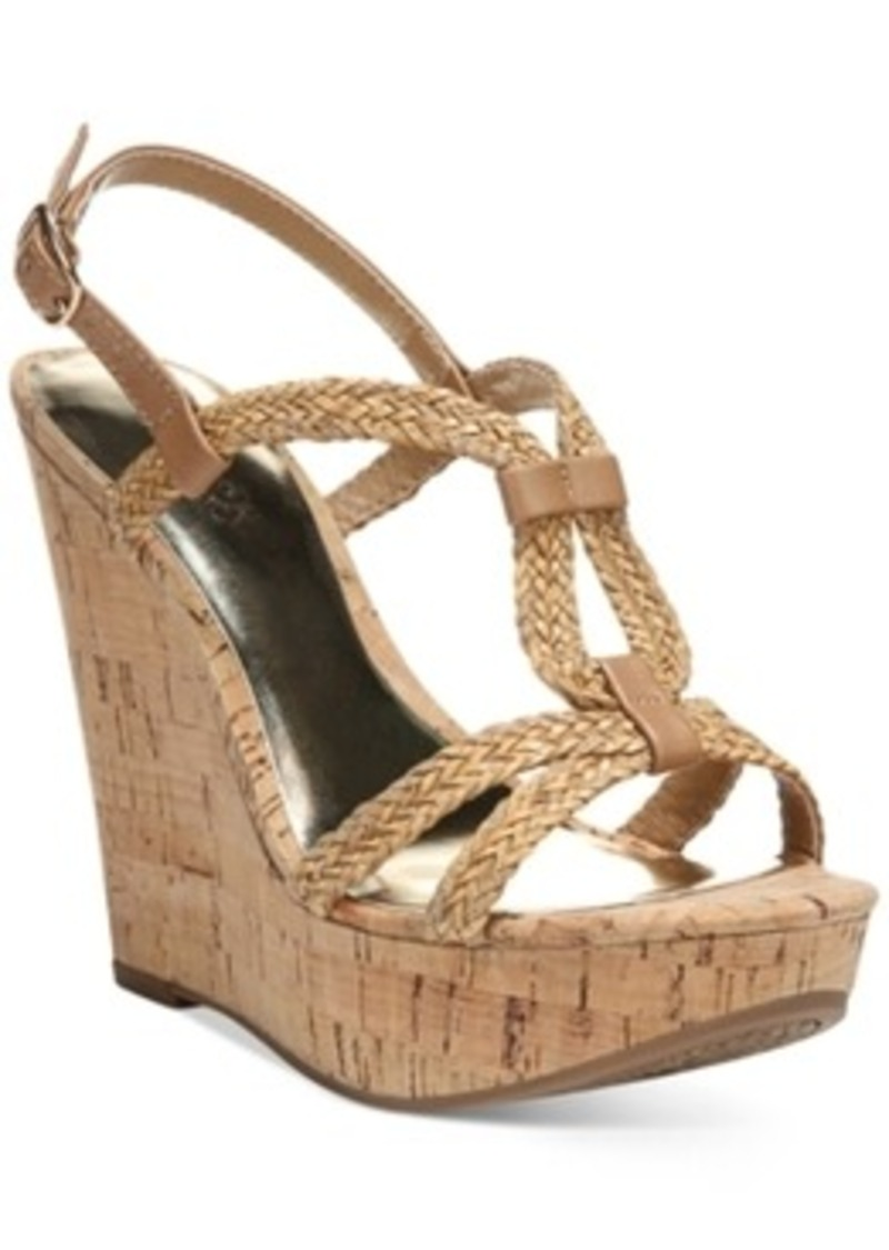 carlos by carlos santana barby cork wedge sandals s