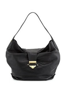 Foley + Corinna Oasis Leather Hobo Bag, Black