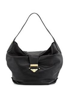 Foley + Corinna Oasis Leather Hobo Bag, Black
