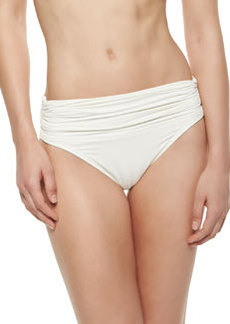 Banded Shirred Swim Bottom   Banded Shirred Swim Bottom