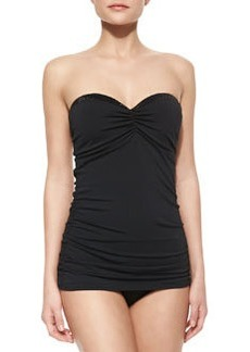 Bead-Detail Bandeau Swimdress   Bead-Detail Bandeau Swimdress