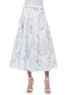 Brocade Matinee A-line Skirt   Brocade Matinee A-line Skirt