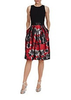 CARMEN MARC VALVO A-Line Party Dress