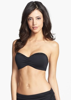 Carmen Marc Valvo 'Cape Town Beach' Underwire Molded Bandeau Bikini Top