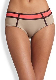 Carmen Marc Valvo Colorblock Hipster Bottom