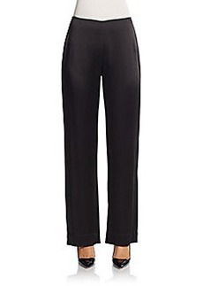 Carmen Marc Valvo Satin Pants
