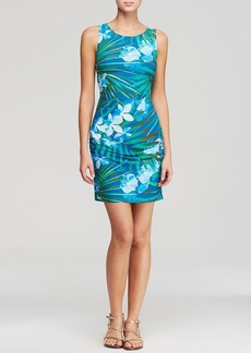 Carmen Marc Valvo Tropical Fantasy Dress Swim Cover Up