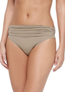 Exotic Illusion Ruched Swim Bottom   Exotic Illusion Ruched Swim Bottom