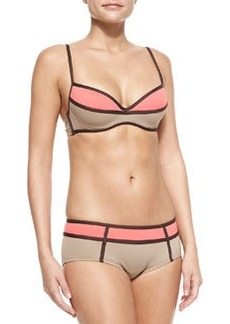 Mondrian Two-Tone Swim Top   Mondrian Two-Tone Swim Top