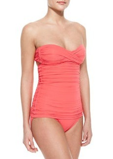 Ruched Bandeau Swimdress   Ruched Bandeau Swimdress