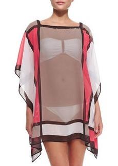 Semisheer Mondrian Tunic Coverup   Semisheer Mondrian Tunic Coverup