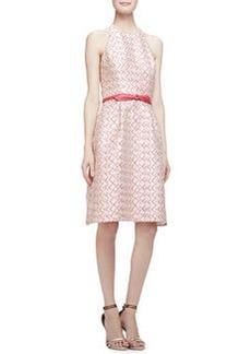 Sleeveless Halter-Neck A-Line Dress   Sleeveless Halter-Neck A-Line Dress
