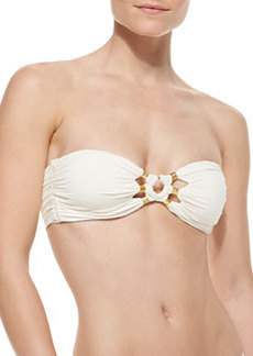 Tribal Muse Beaded Bandeau Swim Top   Tribal Muse Beaded Bandeau Swim Top