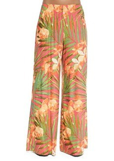 Tropical Fantasy Coverup Pants   Tropical Fantasy Coverup Pants