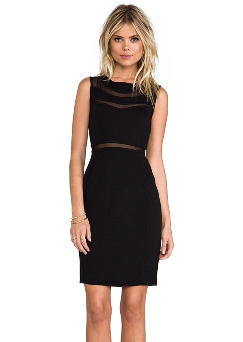 Catherine Malandrino Briella Shift Dress in Black