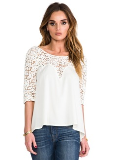 Catherine Malandrino Clara Top in Ivory