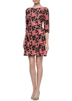 Catherine Malandrino Crochet Lace Cocktail Dress