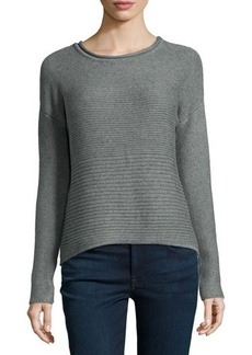 Catherine Malandrino Indigo Chunky Long-Sleeve Sweater
