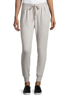 Catherine Malandrino Indigo Drawstring Tapered Jogger Pants
