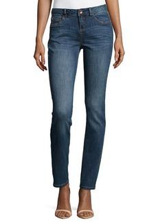 Catherine Malandrino Indigo Zoe Straight-Leg Jeans